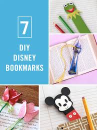 disney bookmarks for your little bookworm disney family