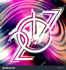 background abstract flash 2017 new year stock illustration