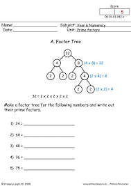prime factor worksheet free worksheets library download and