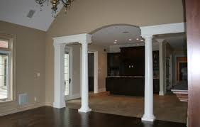 walls sw 6094 sensational sand ceilings and columns sw7005 pure