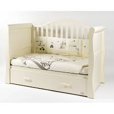 White Sleigh Cot Bed Oslo Sleigh Cot Bed