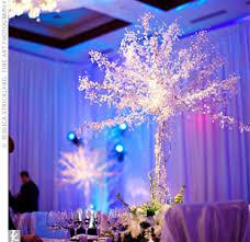 Winter Wonderland Centerpieces by Need Help Ladies U2013 Winter Wonderland Themed Wedding Ideas