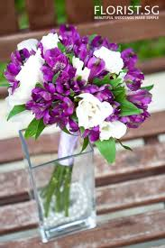 Violet Wedding Flowers - best 25 alstroemeria wedding bouquet ideas on pinterest