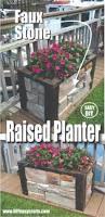 Standing Planter Box Plans by Diy Rectangular Planter Box Planter Box Plans Pinterest