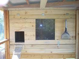backyard chicken coops auto door setup home outdoor decoration