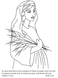 ruth bible coloring pages u0026 coloring book coloring