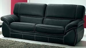 canapé lit cuir noir canape 3 places noir canapac canape cuir noir best of canapa
