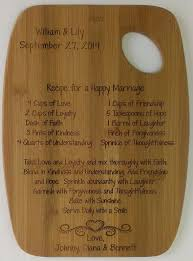 cutting board with recipe engraved best 25 bamboo cutting board ideas on bamboo board