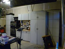 How To Build Wall Cabinets For Garage Garage Cabinets Completed Engineering A Home