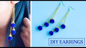 earrings diy how to make earrings at home diy earrings jewellery