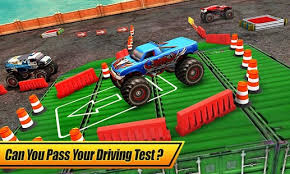 monster truck parking 3d android apps google play