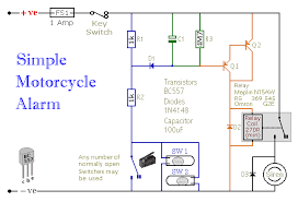 how to build a simple motorcycle alarm