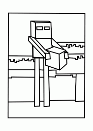 printable coloring pages of minecraft coloring home