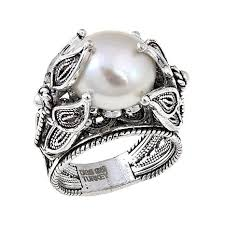 ottoman silver jewelry collection cultured freshwater pearl