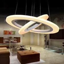 led suspended lighting fixtures ring modern led pendant lights circle suspension lighting fixtures