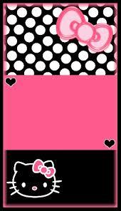 melissa wallpaper in pink pink black white hello kitty melissa pinterest hello kitty