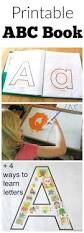 printable abc book preschool learning activities preschool