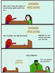 Speed Dating Meme - superhero speed dating kill the hydra