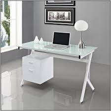 modern glass desk with drawers fresh white glass desks 56 in interior decorating with white glass