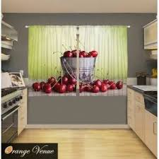 Cherry Kitchen Curtains 54 Best 3d Curtains Images On Pinterest Curtains Curtain Panels