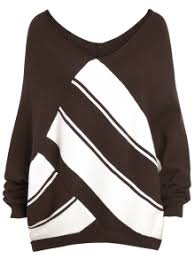 color block plus size v neck sweater coffee sweaters 3xl zaful