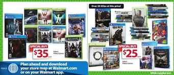 walmart s black friday gaming deals revealed gamespot