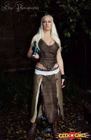 Game Thrones Halloween Costume Ideas Sale Game Thrones Khaleesi Dothraki Manythingsmari