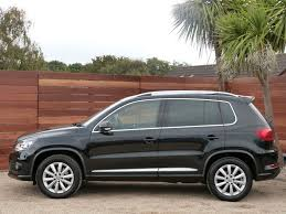 volkswagen tiguan black used black vw tiguan for sale dorset