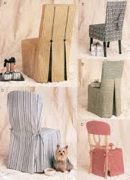 Dining Chair Cover Pattern Chair Cover Sewing Pattern 5 Vogue Seat Covers Oop Chair
