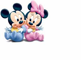baby mickey mouse in overalls wall decal mickeymousewalldecal8 baby mickey and minnie