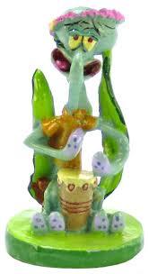 spongebob spongebob squidward ornament aquarium character ornaments