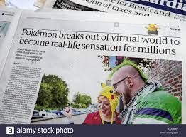 newspaper article breaks out of world to become