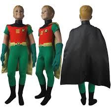 kids dc comics superhero robin teen titans go cosplay costume