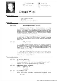 resume format in word doc simple best resume sle doc cv best resume format in doc