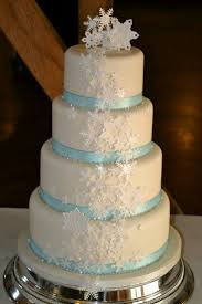 40 best christmas winter wedding cakes images on pinterest