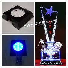 Led Light Base For Centerpieces by Led Base For Memorial Desk Trophy Color Changing Crystal Buy Led