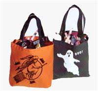 personalized trick or treat bags personalized bags personalized candy bags and trick or