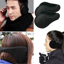 how to wear hair behind the ears amazon com 2 pack unisex fleece behind the neck ear muffs