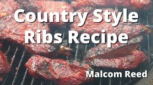 country style ribs how to smoke country ribs recipe youtube