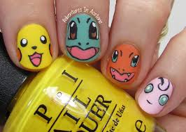 40 great nail art ideas kid u0027s tv pokémon nail art adventures