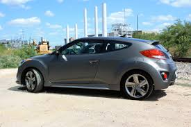 hyundai veloster turbo matte black 2013 hyundai veloster turbo first drive