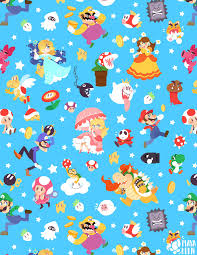 mario wrapping paper mario party by mayakern on deviantart