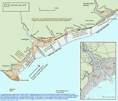 Hampshire England Map by Lymington Keyhaven And West Solent Coast Geology And Coastal