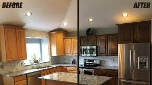 how to refinish your cabinets cabinet refinishing service woodworks refurbishing utah