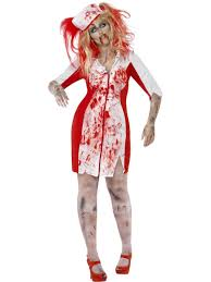 ladies curves zombie undead halloween womens fancy dress costume