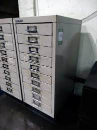 Bisley 10 Drawer Filing Cabinet Bisley 10 Drawer Cabinet With Contents 1st Machinery