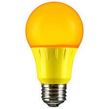 miracle led bug light review yellow led a19 120 volt e26 medium base party light bulb not