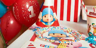 pocoyo party supplies pocoyo 1st birthday party supplies kids party supplies