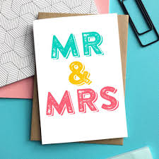 wedding greetings mr and mrs wedding greetings card by do you punctuate