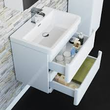 pienza 600mm white wall hung basin vanity unit 199 99 bathroom